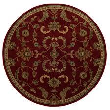 oriental weavers of america monarch round indoor tufted area rug