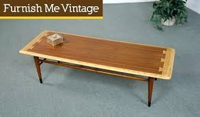 lane coffee table with drawers refinished mid century modern acclaim within plans 8 style