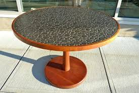 tile top dining table ceramic pebble tile top dining table at tile dining table tile top