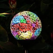 Hot Plastic Solar Mosaic Garden LightMosaic Solar Garden Lighting Solar Mosaic Garden Lights