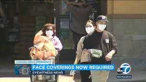 Coronavirus: Face coverings mandate ...