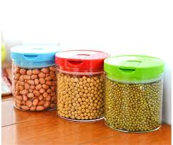 practical glass storage jars airtight food containers for coffee tea moisture proof function high quality nz