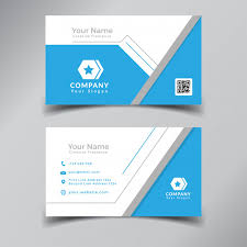 Professional Business Card Templates Modern Professional Business Card Template Design Blue And White