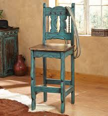 cheap wooden bar stools. Turquoise Mission Style Bar Stools Cheap Wooden N