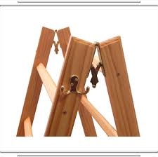 Golden Pecan LadderRack - Solid Wood Quilt Ladder Display Rack & Our ... Adamdwight.com