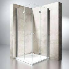 folding glass shower doors bi fold glass shower door enclosure cubicle bi fold glass shower doors