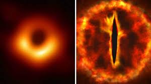 El curioso parecido de la primera imagen de un agujero negro - AS.com