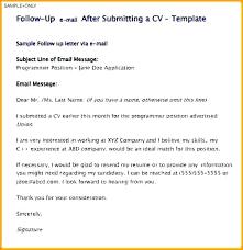 Email Resume Template Email Resume To Potential Employer Template