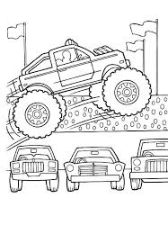 Monster Truck Coloring Pages For Kids At Getdrawingscom Free For