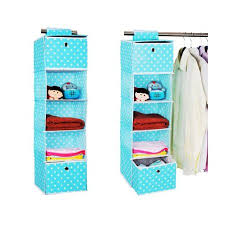 hanging closet organizer with drawers. Get Quotations · Home-Cube Hanging Closet Organizers With 2 Removable Drawers Assorted Colors NEW (blue Point Organizer B