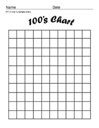 Blank 100 Chart Hundreds Chart Fill In Worksheet Fun And Printable
