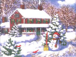Christmas Scenes Free Downloads Download Wallpapers For Free Winter Christmas Scenes