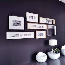 mirror and picture frames modern wall decor minimalist home decor white framed long