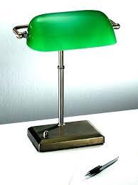 antique bankers lamp vintage desk green replacement glass shade antique bankers lamp vintage desk green replacement glass shade