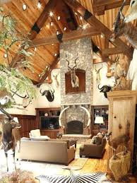 hunting cabin decorating ideas rustic
