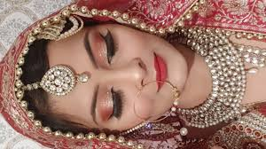 indian stani muslim bridal makeup look affordable