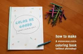 Personalized Coloring Books Craft