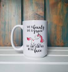 Enjoy your morning cup of coffee in a heat reactive color changing mug. Buy Unicorn Coffee Mug Cute Sarcastic Funny Cup For Men Or Women Unique Fun Gifts For Mom Dad Sister Brother Best Friend Him Her Under 20 Handmade Printed In