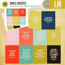 Quote Cards Inspiration The Lilypad Journal Cards Bible Quotes Journaling Cards