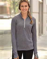 adidas quarter zip. adidas - golf women\u0027s brushed terry heather quarter-zip jacket a275 quarter zip
