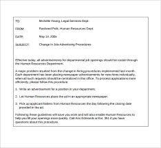 Email Memorandum Format Sample Email Memo 9 Documents In Pdf