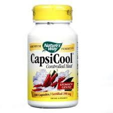 Nature's Way <b>CapsiCool Controlled Heat</b> - 390 mg - <b>100</b> Vegetarian ...