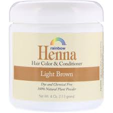 Rainbow Research Henna Hair Color And Conditioner Light