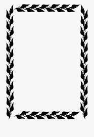 Png Free Download Black And White Border Clipart Side