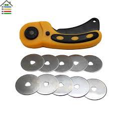 <b>45mm Rotary Cutter Set</b> Spare Blades For Olfa Dafa Fiskars Rotary ...