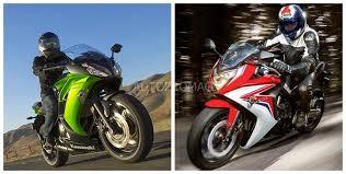 2018 honda 650 rr. beautiful 2018 the 2014 kawasaki ninja 650r vs 2014the honda cbr 650 f inside 2018 honda rr