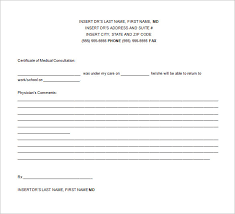 School Excuse Template Doctor Excuse Template 7 Free Sample Example Format Download