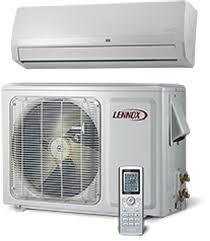 lennox system. high wall, mini-split air conditioner lennox system