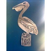 pelican on stump metal wall art sculpture on large pelican wall art with 103 best pelican images on pinterest art sculptures metal