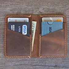 minimalist leather wallet leather bifold wallet distressed leather slim bifold wallet personalized leather wallet fathers day gift