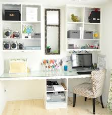 organizing a home office. before and after a cluttered home office turns airy organized organizing