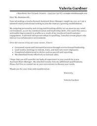 Retail Cover Letter Sales Associate Retail Sales Cover Letter Best