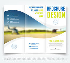 Brochure Trifold Template Free Tri Fold Brochure Design Vector At Getdrawings Com Free