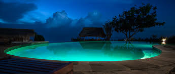 Infinity Pool at Night Just returned from the best holiday Flickr