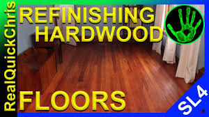 how to refinish your hardwood flooring easy and