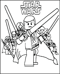 Lego Kylo Ren Coloring Pages Free Printable Star Wars Coloring Pages ...