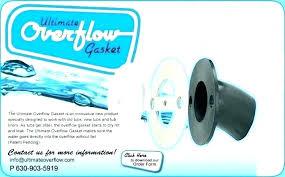 ultimate overflow gasket bathtub overflow gasket drain cover how install best home depot vision