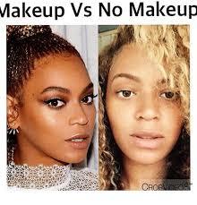 makeup memeakeup vs no makeup cro