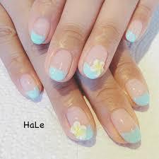 春夏海リゾートハンド Hairnail Haleのネイルデザインno4076526
