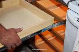 Cabinet Drawer Rails Furniture How To Measure For Drawer Slides Kreg Drawer Slide