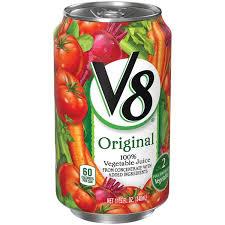 v8 original 100 vegetable juice