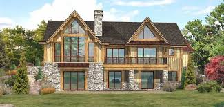 Lakefront  Log Homes Cabins And Log Home Floor Plans  Wisconsin Lake Front Home Plans