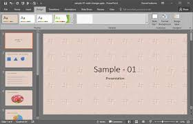 Texture Fills For Slide Backgrounds In Powerpoint 2016 For Windows