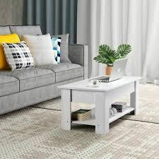 white coffee table donatella designer