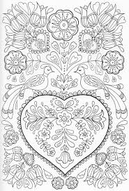 Small Picture Scandinavian Coloring Book Pg 41 Color pages Stencils