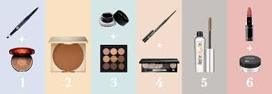 1 trace in your eyebrows with an eyebrow pencil and dust over with bronzer or a light brown matte eyeshadow to lock in color
